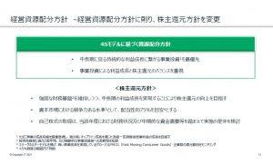 JTの株主還元方針